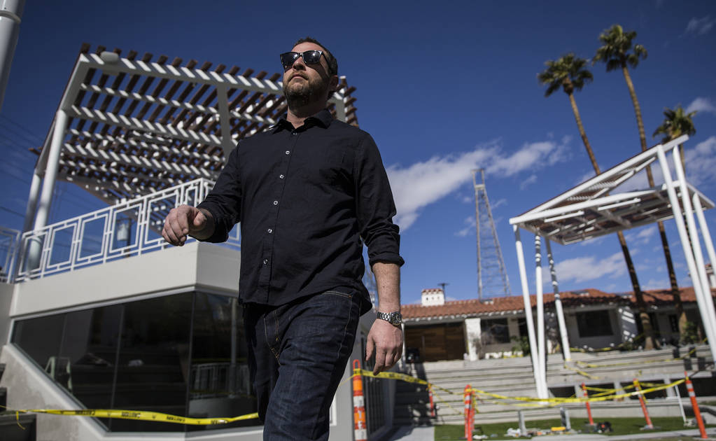 Dan Krohmer, chef/owner of Other Mama, at Fergusons Downtown where he is planning to renovate the motel into two new restaurants on Wednesday, Feb. 27, 2019, in Las Vegas. (Benjamin Hager Review-J ...