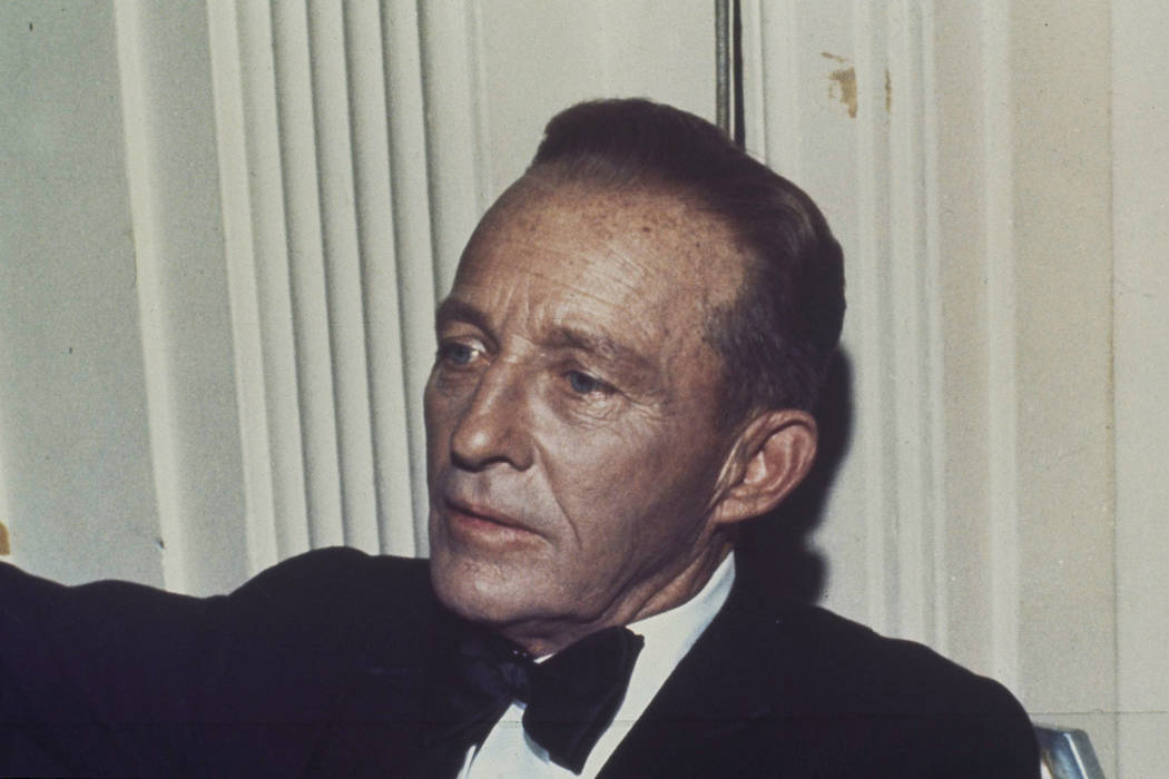 Singer Bing Crosby is pictured in an undated photo. (AP Photo)
