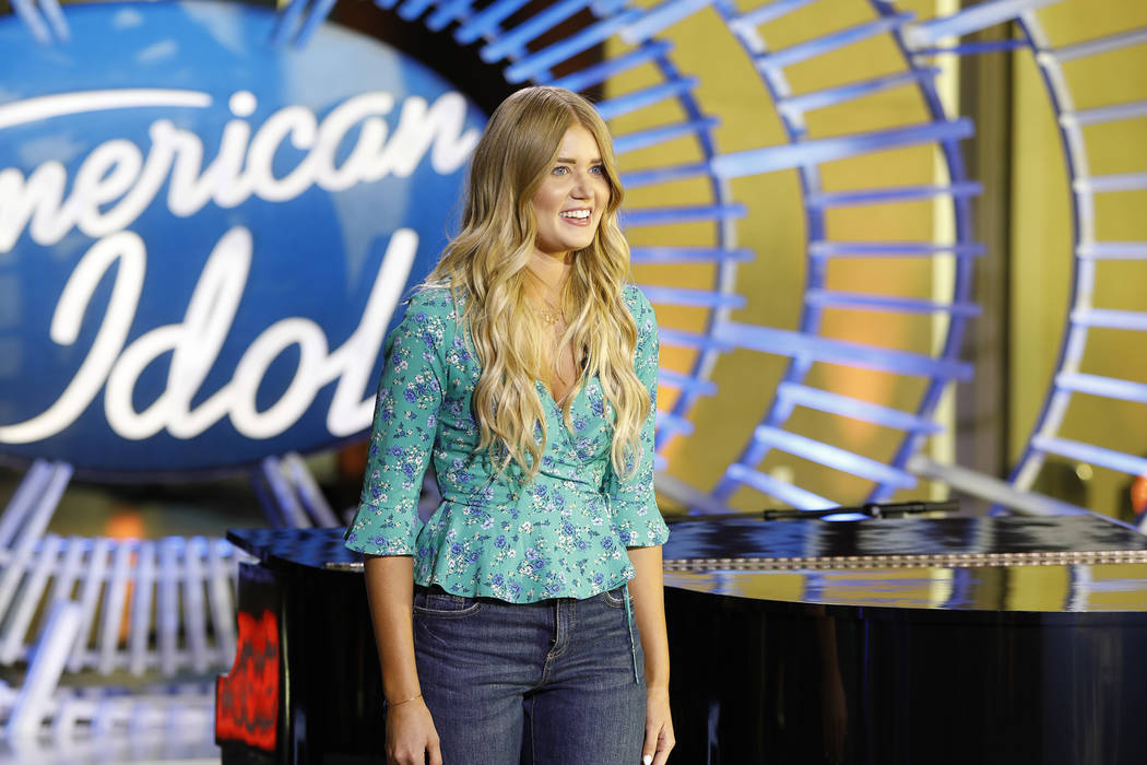 """American Idol"" contestant Johanna Jones (ABC/Josh Vertucci)"