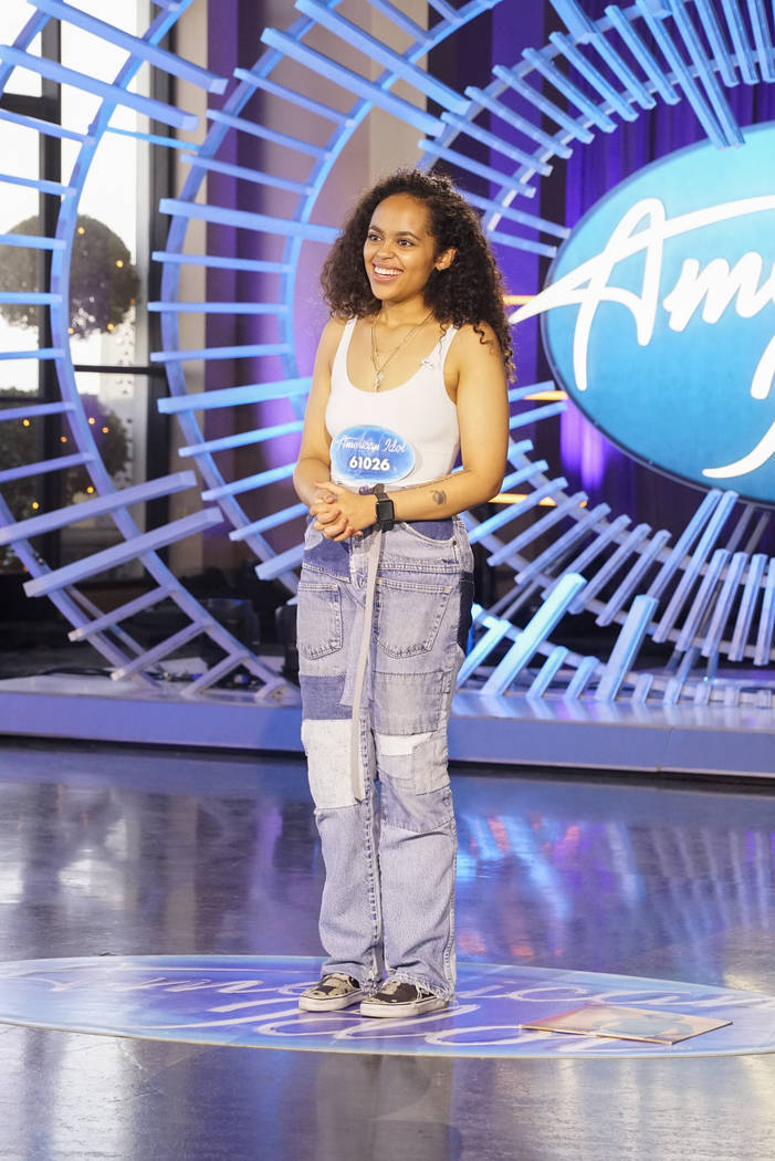 """American Idol"" contestant Tiffanne Le May (ABC/Kelsey McNeal)"