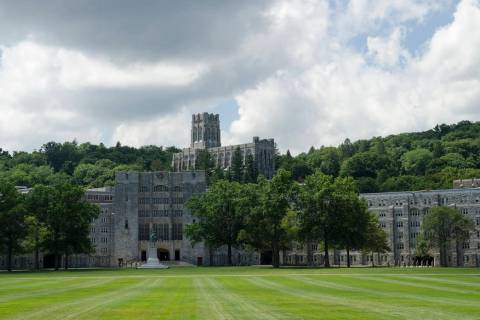 The Military Academy at West Point, New York. (Getty Images)