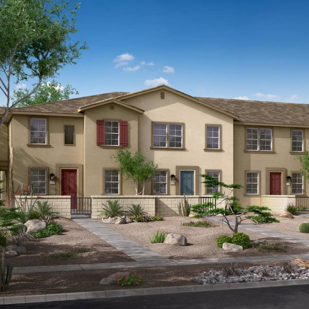San Carlo Townhomes by Woodside homes will hold a grand opening March 16 from 11 a.m to 3 p.m. (Woodside Homes)