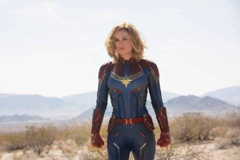 Marvel Studios' CAPTAIN MARVEL. Carol Danvers/Captain Marvel (Brie Larson) (Chuck Zlotnick/Marvel Studios 2019)