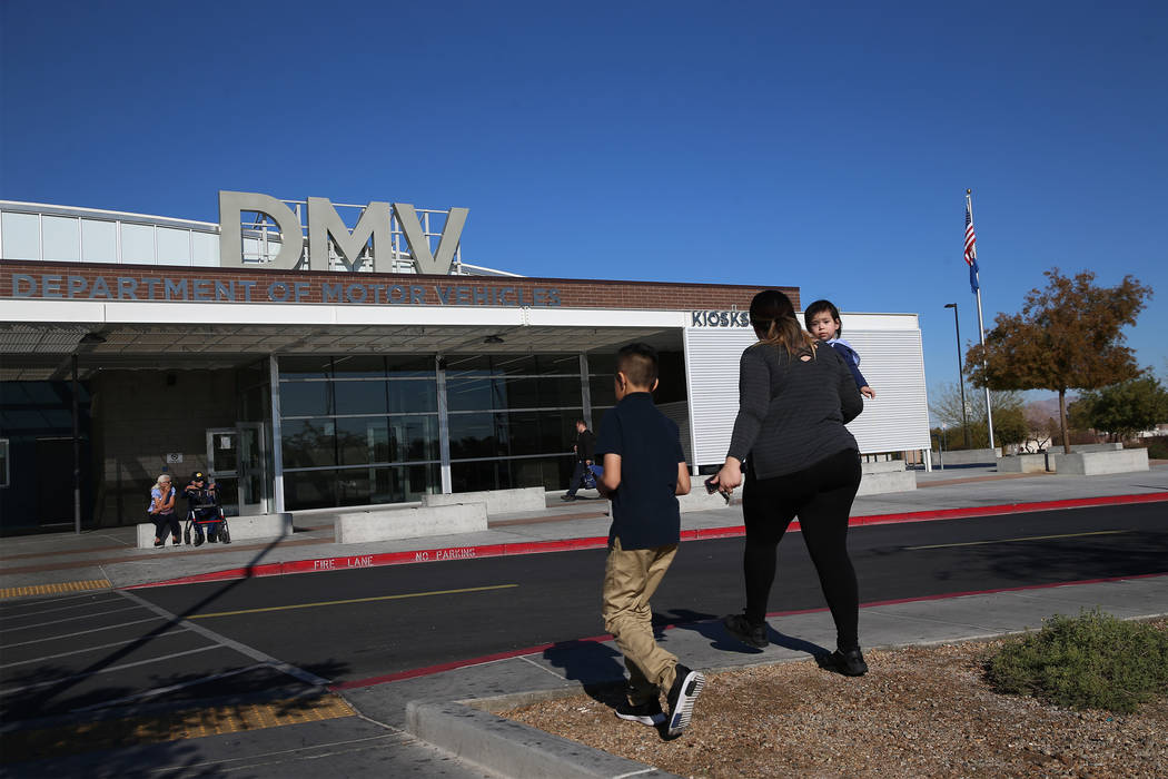 dmv nv drivers test appointment