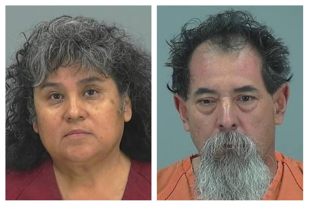 Esther Gomez De Aguilar, left, and Jose Aguilar Diaz (Pinal County Sheriff's Office/Facebook)