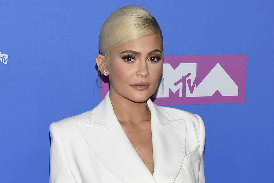 In this Monday, Aug. 20, 2018 file photo, Kylie Jenner arrives at the MTV Video Music Awards at Radio City Music Hall in New York. (Evan Agostini/Invision/AP)