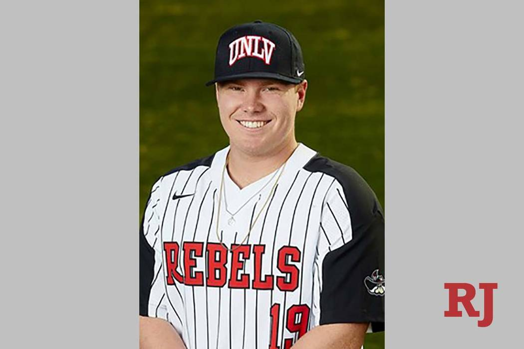 Jack-Thomas Wold hit a two-run home run in Tuesday's 6-1 win over Cal State Bakersfield. (UNLV)