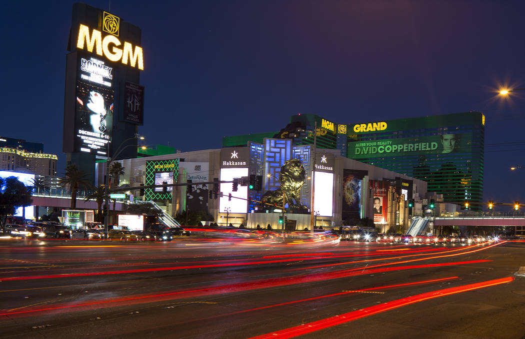 MGM Grand on the Strip in Las Vegas on Saturday, Dec. 15, 2018. Richard Brian Las Vegas Review-Journal @vegasphotograph