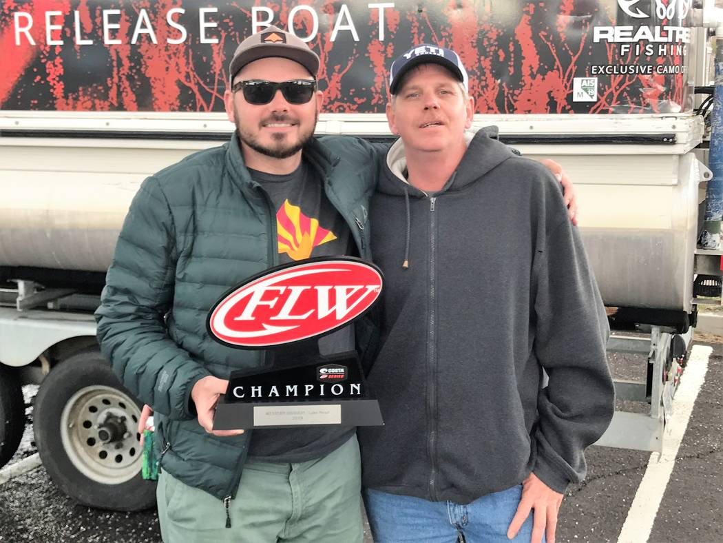 Jesse Parks, Avondale, Ariz., made the most of the entry fees paid by his father, Tom Parks, by taking first place on the co-angler side of the Costa FLW Series Western Division bass tournament he ...
