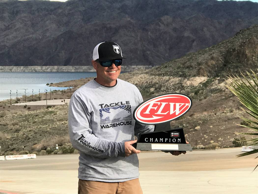 Local favorite Tim Klinger, of Boulder City, completed a stunning comeback to win the Costa FLW Series Western Division bass tournament at Callville Bay Marina with 34-pounds, 12-ounces of Lake Me ...