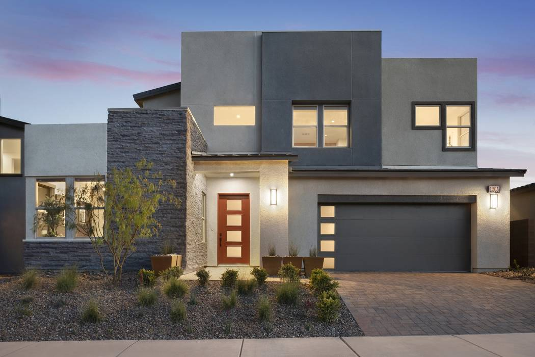 Blackstone at The Villages at Tule Springs is one of three neighborhoods offered by Pardee Homes in North Las Vegas. Pictured is the Blackstone Plan Two model home. (Pardee Homes)