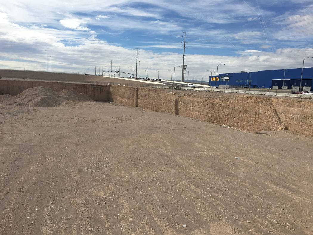 Las Vegas and Irish developers teamed up in 2006 to build Sullivan Square, a multi-tower project at Sunset Road and Durango Drive in the southwest Las Vegas Valley. The project site, seen Tuesday, ...