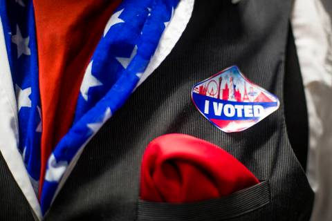 Early voting in municipal elections begins March 16 and runs through March 29. (Rachel Aston/ Las Vegas Review-Journal) @rookie__rae