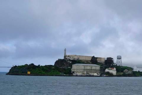 Alcatraz Island is seen Wednesday, March 6, 2019, in San Francisco. (AP Photo/Eric Risberg)
