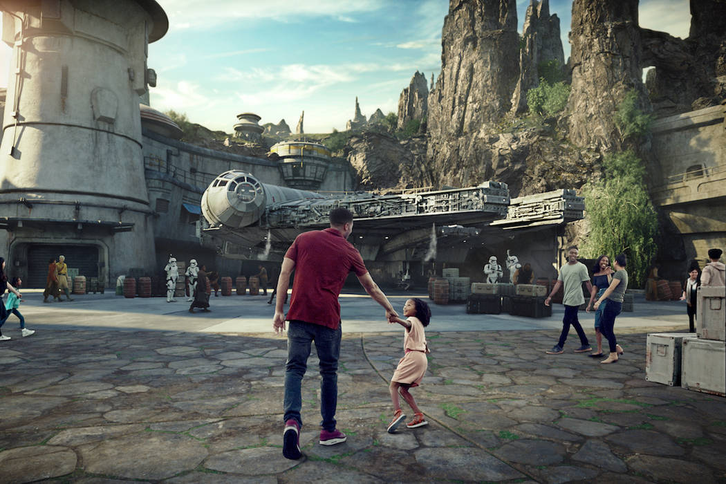 At 14 acres, Star Wars: Galaxy's Edge will be Disney's largest single-themed land expansions ever, transporting guests to live their own Star Wars adventures in Black Spire Outpost, a village on ...