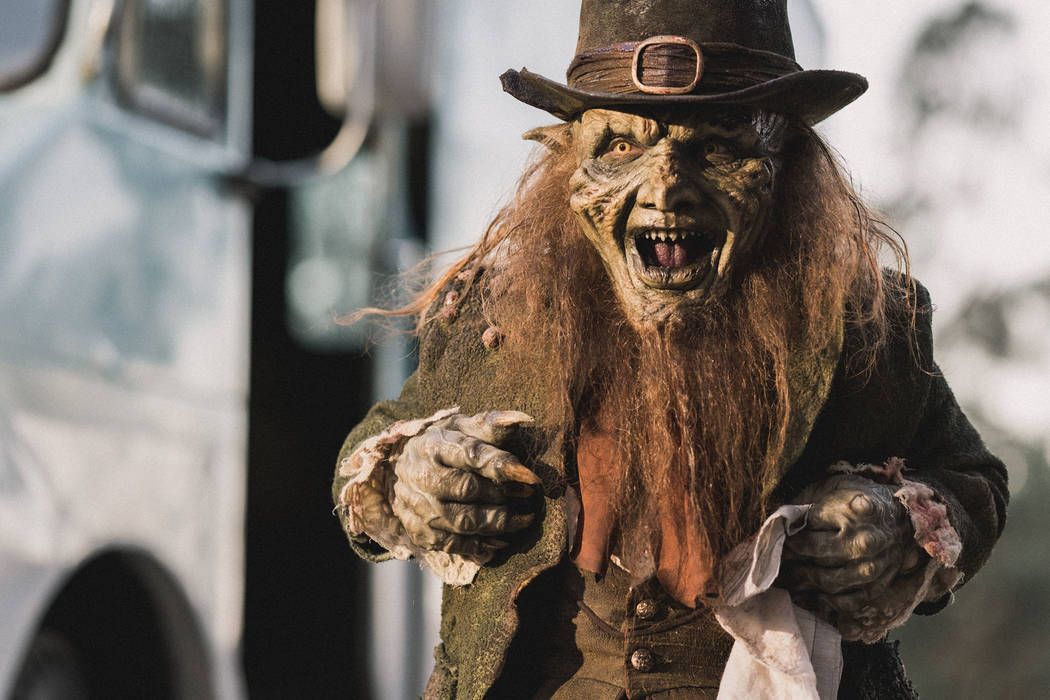 The Leprechaun returns once again, when a group of girls unwillingly awaken him, when they tear down a cabin so that they can build a new sorority house.