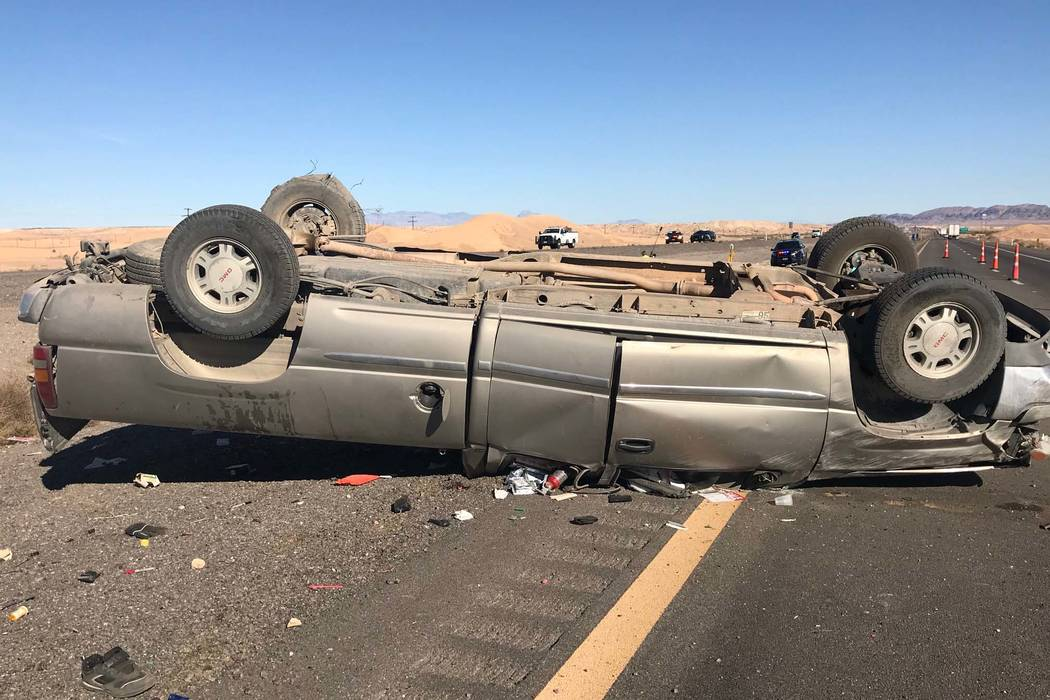Traffic fatalities are down in Nevada from a year ago. (Nevada Highway Patrol)