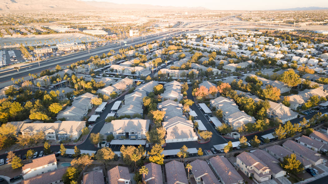 The Calida Group bought the 624-unit Pointe at Centennial apartment complex, seen here, in the northwest Las Vegas Valley for $100 million from Shopoff Realty Investments. (Courtesy of Shopoff Rea ...