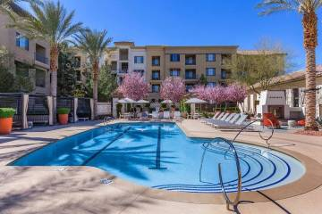 The Calida Group bought the 459-unit Mosaic apartment complex in the southwest Las Vegas Valley, seen here, for more than $87 million. (Courtesy of The Calida Group)