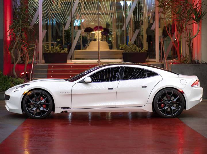 Karma Revero combines luxury high-tech with stunning design. (Karma Automotive)