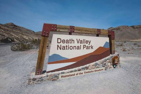 A main route through Death Valley National Park is open again, but other roads remain closed because of flood damage earlier in the week. Richard Brian Las Vegas Review-Journal @vegasphotograph