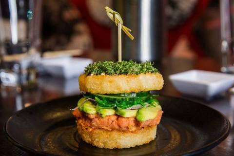 Sushi Burger at Sake Rok (Sake Rok)