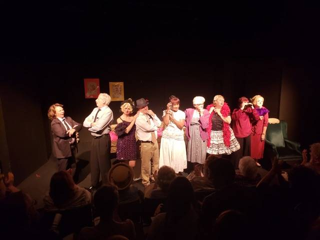 The entire cast of Any Body for Tea? at their performance on Thursday, March 7. Louise Rauckhorst.