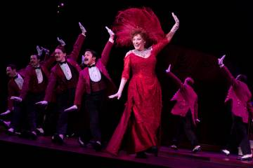 "Betty Buckley and the National Tour Company of ""Hello, Dolly!"" (Julieta Cervantes)"