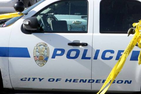 An 82-year-old woman died after a head-on crash in Henderson on Thursday evening, police said. (Las Vegas Review-Journal file)
