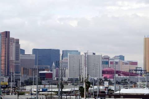 Las Vegas is pictured in this file photo. Bizuayehu Tesfaye/Las Vegas Review-Journal Follow @bizutesfaye