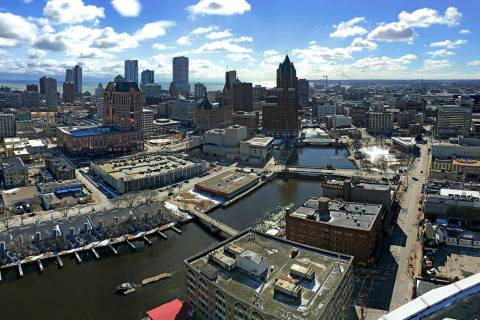 The Democratic National Committee has selected Milwaukee to host the 2020 national convention. (Mike De Sisti/Milwaukee Journal-Sentinel via AP)
