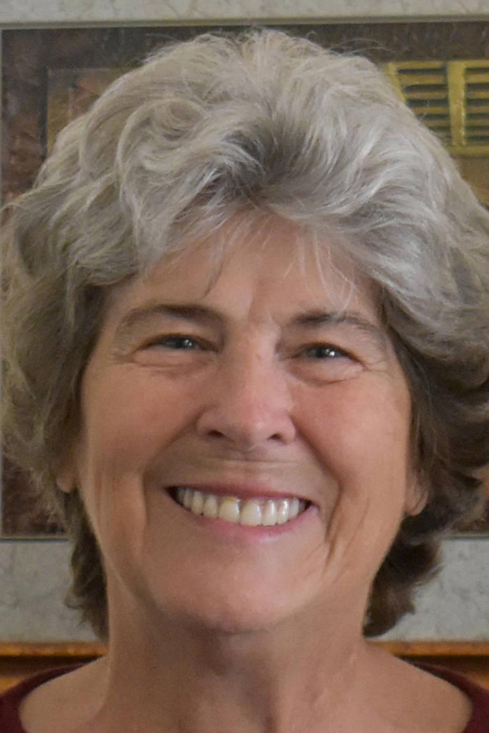 Kathleen Miller, executive director of Living Grace Homes. Rachel Spacek/ Las Vegas Review-Journal @Rachel Spacek