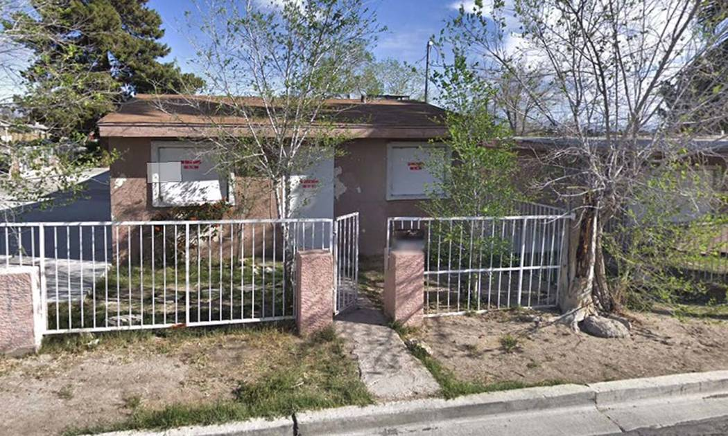 1501 Linden Ave., Las Vegas (Google)