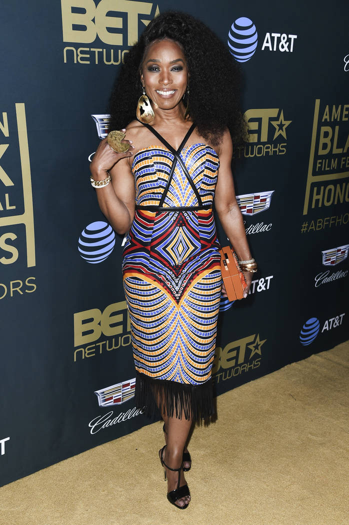 Angela Bassett attends the 2018 American Black Film Festival Honors at the Beverly Hilton Hotel on Sunday, Feb. 25, 2018, in Beverly Hills, Calif. (Photo by Richard Shotwell/Invision/AP)