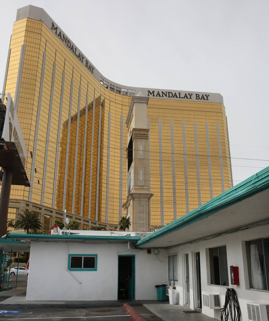 Motel 8 rooms photographed on Friday, March 1, 2019, in Las Vegas. The Motel 8's landlord wants to bulldoze the building and build a hotel-casino. (Bizuayehu Tesfaye Las Vegas Review-Journal) @biz ...