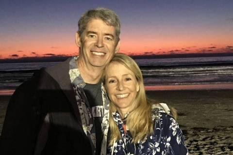 Elisabeth Kimmel, right, and her husband Gregory (Facebook)