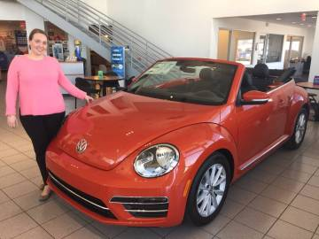 Findlay Volkswagen Henderson General Manager Melisa Eichbauer jumped at the opportunity to help Living Grace Homes for homeless young women and their children. (Findlay)
