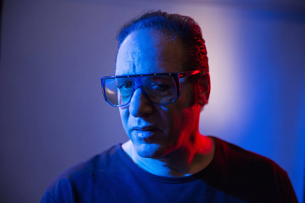 """In this April 4, 2016 file photo, Andrew Dice Clay poses for a portrait in New York to promote his Showtime comedy series, """"Dice,"""" premiering Sunday at 9:30 p.m. ET. (Photo by Victoria W ..."""