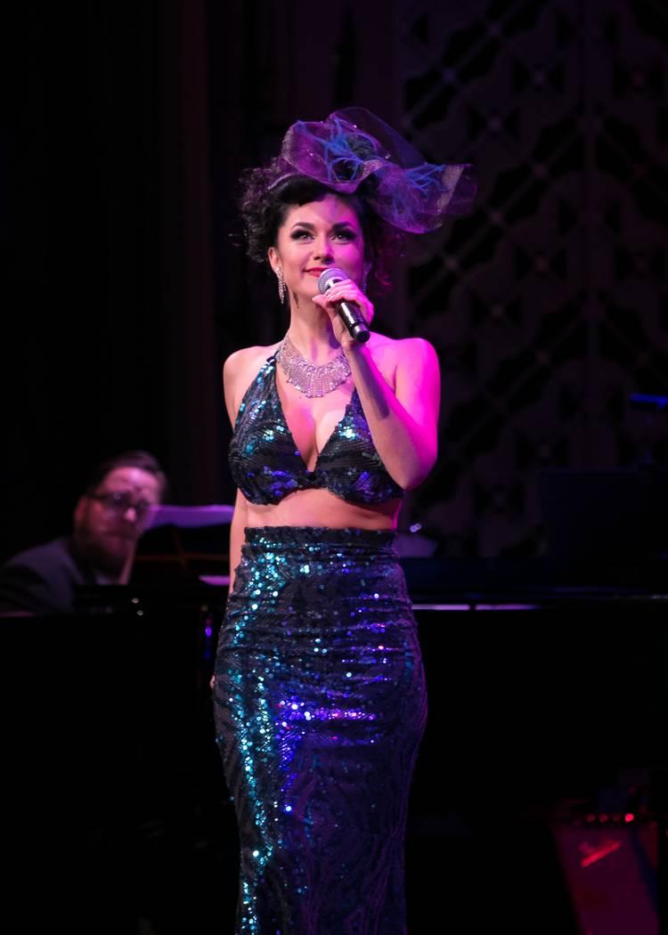 Melody Sweets performs at Cabaret Jazz on Tuesday night. (Photo courtesy Myron Martin)