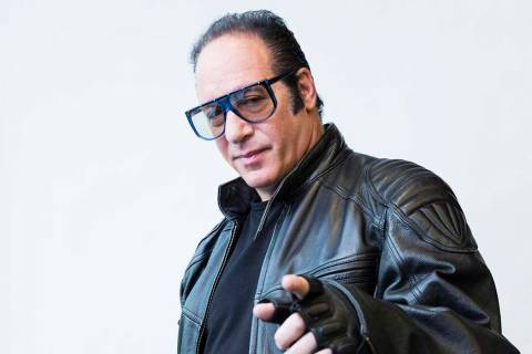 Andrew Dice Clay returns this weekend to The Laugh Factory at the Tropicana on the Las Vegas Strip. (Photo by Victoria Will/Invision/AP)