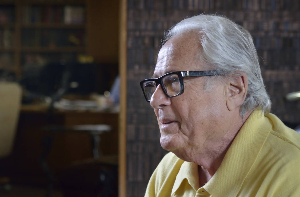 Kenny Epstein, owner of the El Cortez hotel-casino, is shown during an interview at the property at 600 E. Fremont St. in Las Vegas on Wednesday, March 6, 2019. (Bill Hughes/Las Vegas Review-Journal)