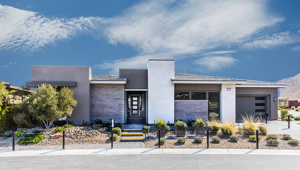 Summerlin features Onyx Point by Richmond American Homes in The Cliffs village. (Summerlin)