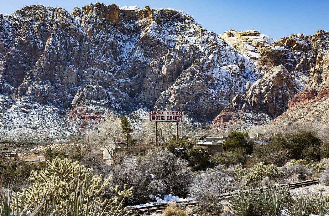 Bonnie Springs Ranch, Feb. 24, 2019. (Rachel Aston/Las Vegas Review-Journal) @rookie__rae