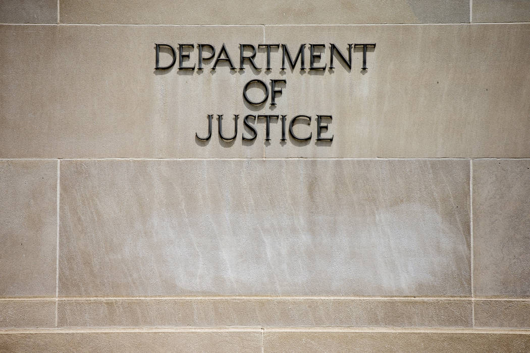 The Department of Justice awarded $1.2 million in grants in an effort to prevent youths in Clark County from joining gangs, the agency announced Wednesday, March 13, 2019. (AP Photo/Andrew Harnik)