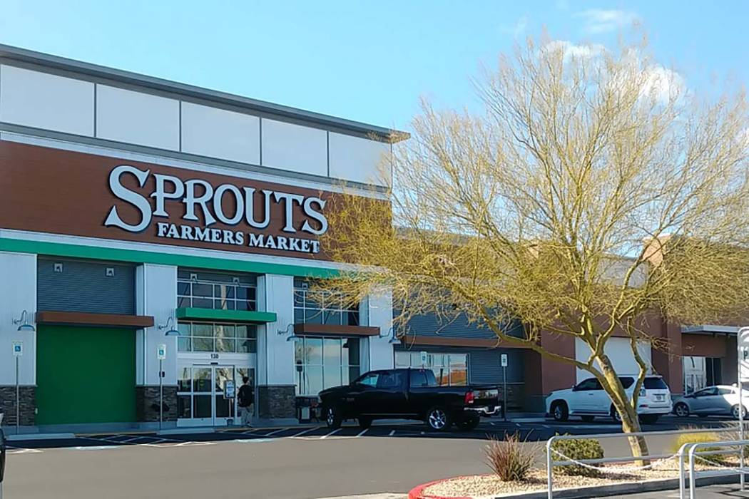 A new Sprouts Farmers Market at 771 S. Rainbow Blvd. will open Wednesday. (Janet Murphy/Las Vegas Review-Journal)