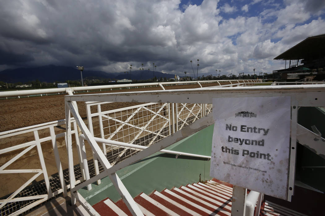 Another Santa Anita Horse Death Throws Reopening Into