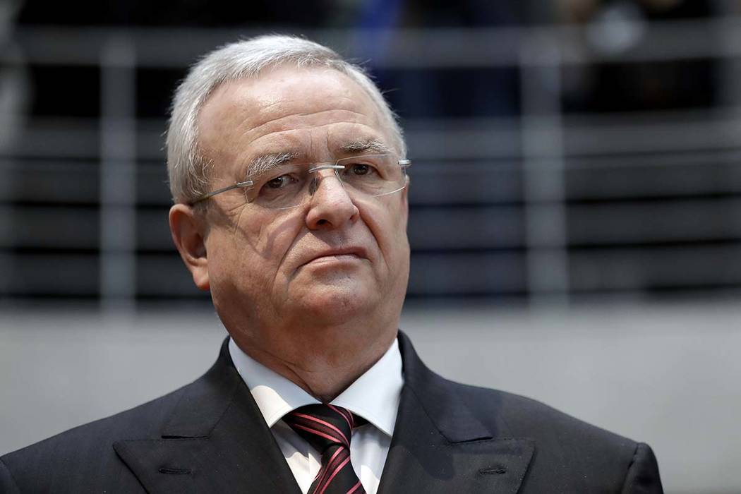 The Securities and Exchange Commission is charging Volkswagen and former CEO Martin Winterkorn with defrauding American investors during an emissions scandal in 2014-15. (Michael Sohn/AP, file)