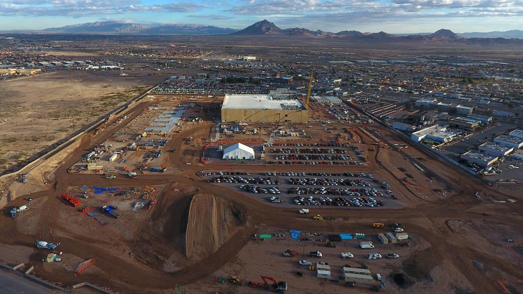 Google Data Center Site Taking Shape In Henderson Video Las Vegas Review Journal