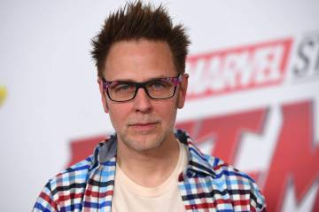 "James Gunn at the premiere of ""Ant-Man and the Wasp"" in Los Angeles on June 25, 2018. (Jordan Strauss/Invision/AP, File)"