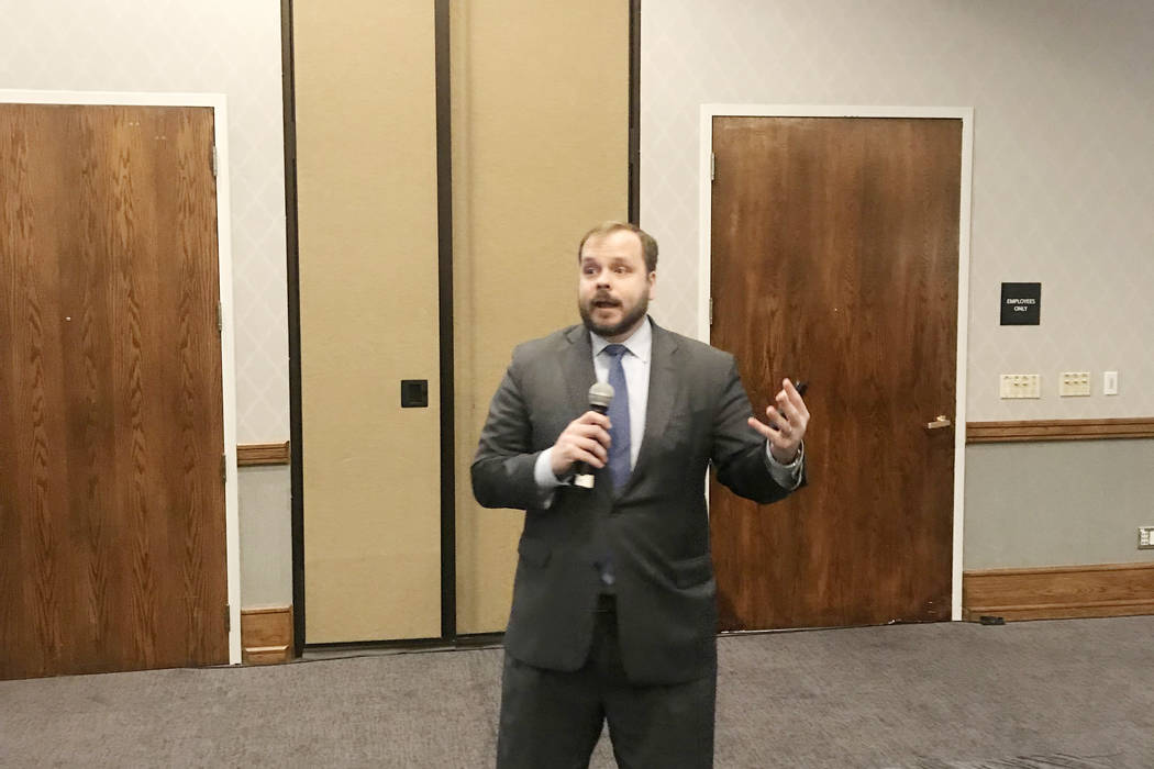 Buck Wargo RealEstate.Vegas Leonard Kiefer, a deputy chief economist with Federal Home Mortgage Corp., served as the keynote speaker at an affordable lending seminar hosted by Guild Mortgage on Ma ...